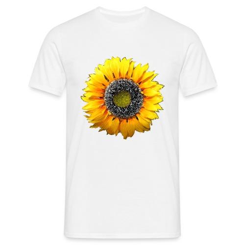 Sonnenblume - Männer T-Shirt