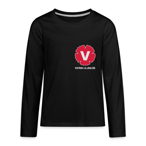 Långärmad premium-T-shirt tonåring