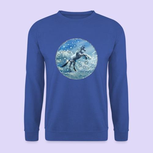 Licorne dans les nuages - Sweat-shirt Homme