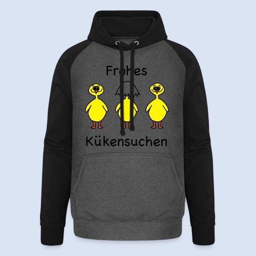 FROHE OSTERN - Happy Easter Baby & Kleinkinder - Unisex Baseball Hoodie