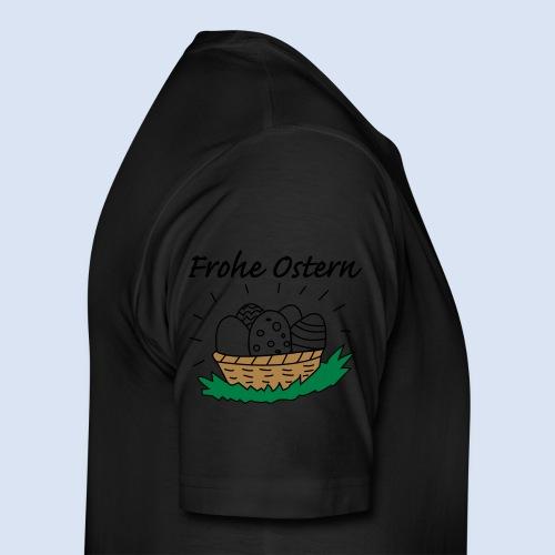 FROHE OSTERN - Happy Easter Kaffeetassen - Kaffeebecher - Männer Premium T-Shirt