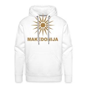 Македонија, makedonija, Sonce, Сонце - Männer Premium Hoodie