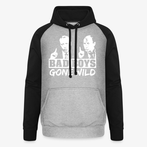 Bad Boys Gone Wild (Erdogan und Putin) - Unisex Baseball Hoodie