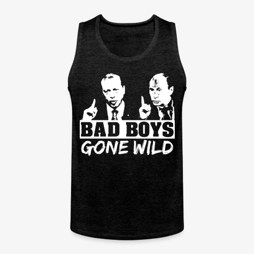 Bad Boys Gone Wild (Erdogan und Putin) - Männer Premium Tank Top