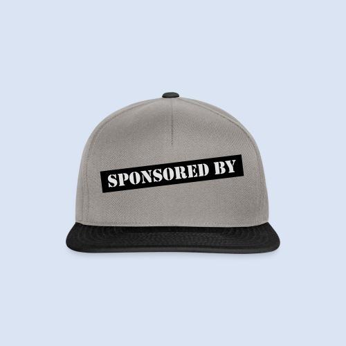 SPONSORING - Sponsored by Mama - Snapback Cap