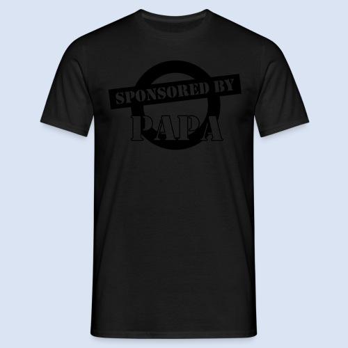 SPONSORING - Sponsored by Papa - Männer T-Shirt