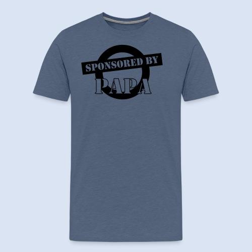 SPONSORING - Sponsored by Papa - Männer Premium T-Shirt