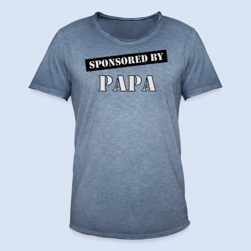 SPONSORING - Sponsored by Papa - Männer Vintage T-Shirt