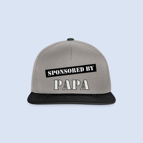 SPONSORING - Sponsored by Papa - Snapback Cap