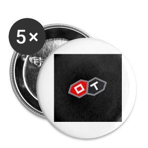 OT-ANSTECKER MIT NADEL, 5er-Pack - Buttons klein 25 mm