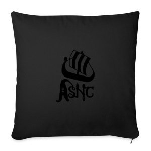 ASNC ship logo mug - Sofa pillow cover 44 x 44 cm