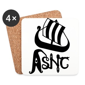 ASNC ship logo mug - Coasters (set of 4)