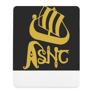 ASNC ship logo coasters - Mouse Pad (vertical)