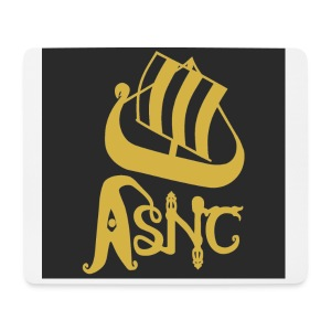 ASNC ship logo coasters - Mouse Pad (horizontal)