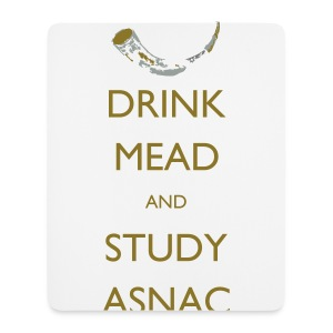 Drink Mead and Study ASNC cushion - Mouse Pad (vertical)