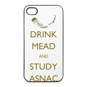 Drink Mead and Study ASNC cushion - iPhone 4/4s Hard Case