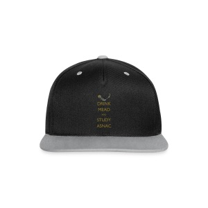 Drink Mead and Study ASNC cushion - Contrast Snapback Cap