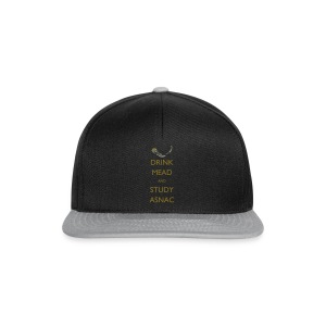 Drink Mead and Study ASNC cushion - Snapback Cap
