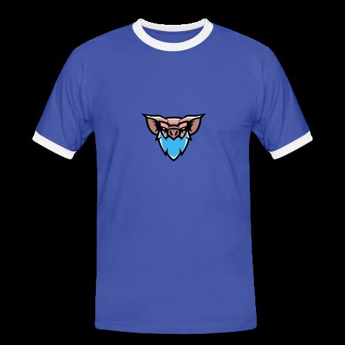 PigMan Dad Cap - Men's Ringer Shirt