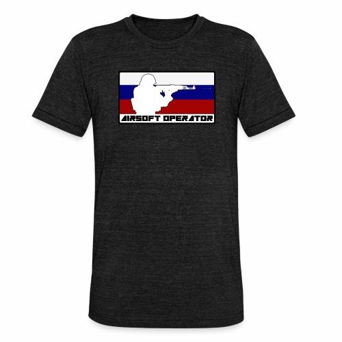 Homme Opérator RU - T-shirt chiné Bella + Canvas Unisexe