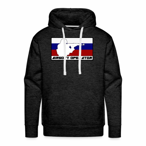 Homme Opérator RU - Sweat-shirt à capuche Premium pour hommes