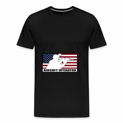 Sweat Bicolor Opérator US - T-shirt Premium Homme
