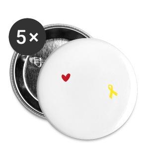 Mein Mann, mein Soldat, mein Held  - Buttons mittel 32 mm