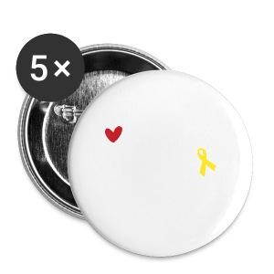 Mein Mann, mein Soldat, mein Held  - Buttons klein 25 mm