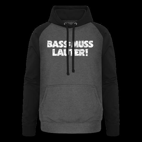 BASS: MUSS LAUTER S-5XL T-Shirt - Unisex Baseball Hoodie