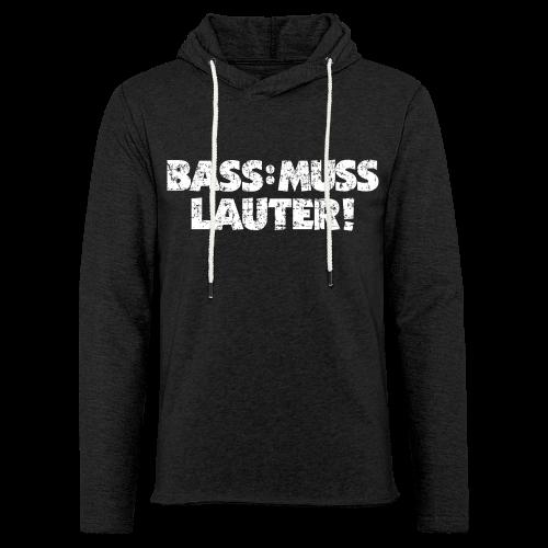 BASS: MUSS LAUTER S-5XL T-Shirt - Leichtes Kapuzensweatshirt Unisex
