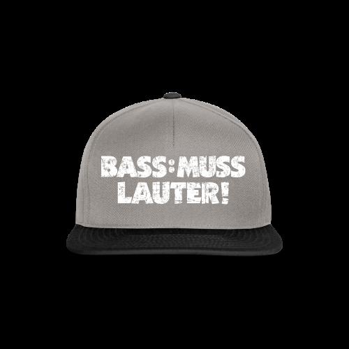 BASS: MUSS LAUTER S-5XL T-Shirt - Snapback Cap