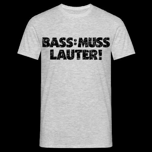 BASS: MUSS LAUTER Vintage T-Shirt - Männer T-Shirt