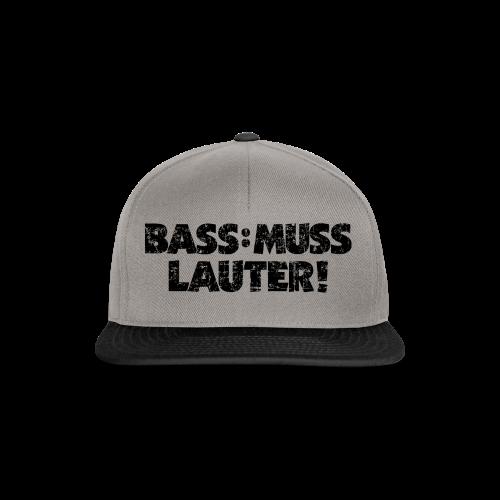 BASS: MUSS LAUTER Vintage T-Shirt - Snapback Cap