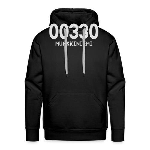00330 MUNKKINIEMI - Miesten premium-huppari