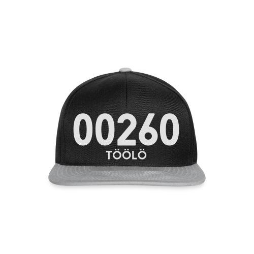 00260 TÖÖLÖ - Snapback Cap