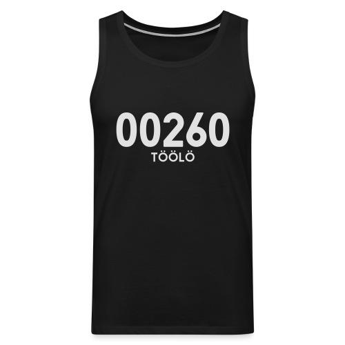 00260 TÖÖLÖ - Miesten premium hihaton paita