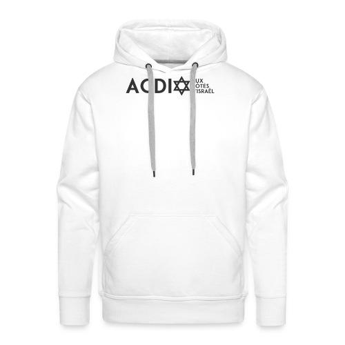 ACDI - Sweat-shirt à capuche Premium pour hommes