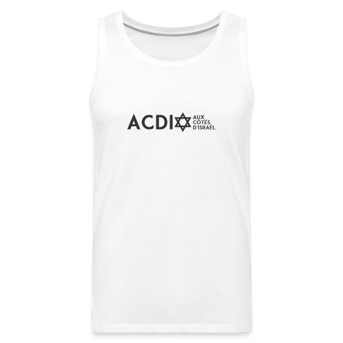 ACDI - Débardeur Premium Homme