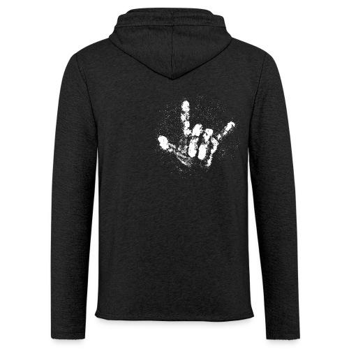 Chalk Hand - Leichtes Kapuzensweatshirt Unisex