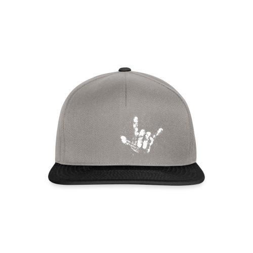 Chalk Hand - Snapback Cap