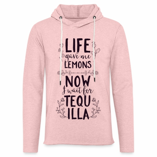Tequilla - Leichtes Kapuzensweatshirt Unisex