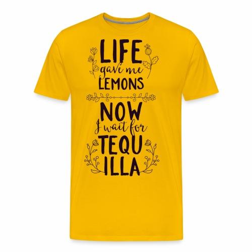 Tequilla - Männer Premium T-Shirt