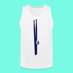 a pair of 7Adrumsticks - Männer Premium Tank Top