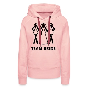Team Bride (Hen Night, Bachelorette Party) T-Shirts - Women's Premium Hoodie