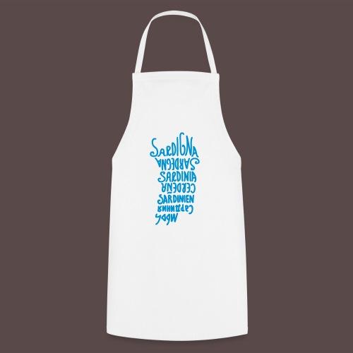 Sardegna, silhouette lingue (donna) - Grembiule da cucina