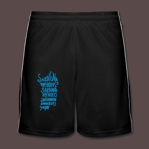 Sardegna, silhouette lingue (donna) - Pantaloncini da calcio uomo
