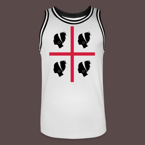 Sardegna, 4 more - Maglia da basket per uomo