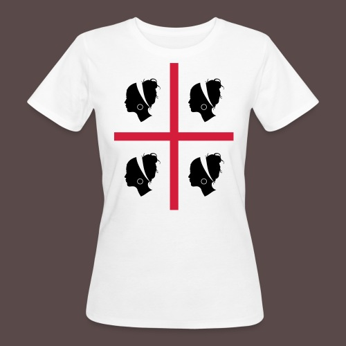 Sardegna, 4 more - T-shirt ecologica da donna