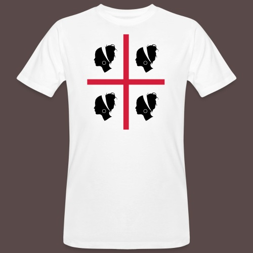 Sardegna, 4 more - T-shirt ecologica da uomo