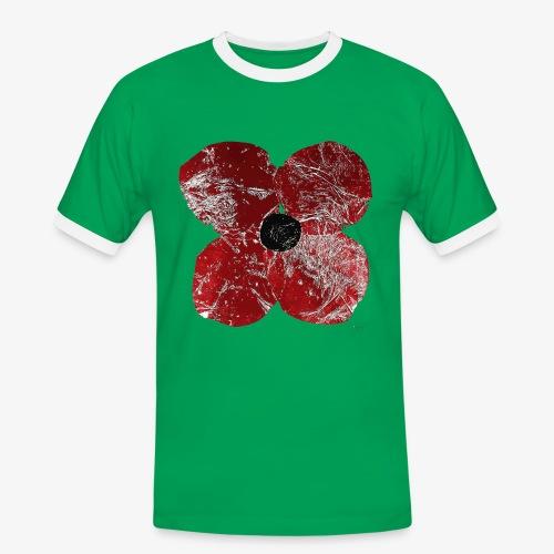 Klatschmohn 1 - Men's Ringer Shirt